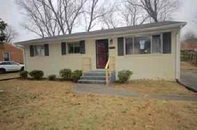 Roanoke City County Single Family Home For Sale: 313 Westside Blvd NW