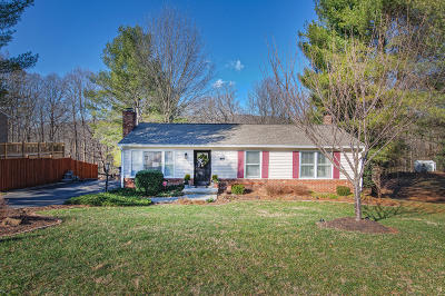 Troutville Single Family Home For Sale: 457 Knollwood Dr