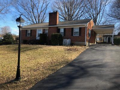 Roanoke County Single Family Home For Sale: 3218 Hastings Rd