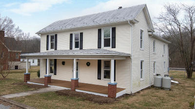 Eagle Rock VA Single Family Home For Sale: $139,950