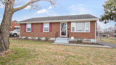 Roanoke VA Single Family Home For Sale: $149,000