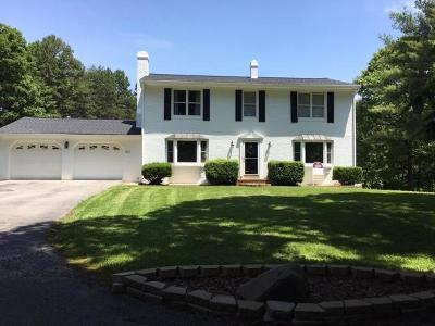 Blue Ridge Single Family Home For Sale: 541 Stonehaven Ln