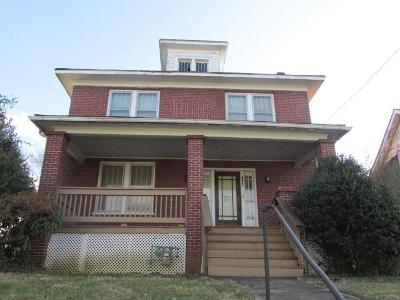 Roanoke City County Single Family Home For Sale: 2206 Hanover Ave NW