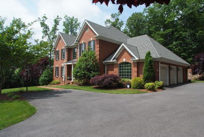 Roanoke County Single Family Home Sold: 5430 Timber Wolf Cir