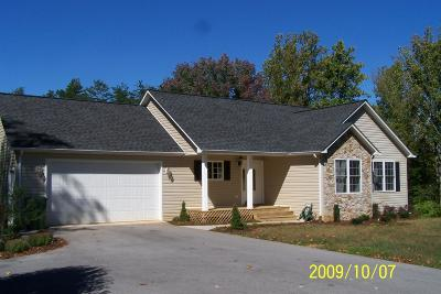 Bedford County Single Family Home For Sale: 1853 Lakewood Forest Rd