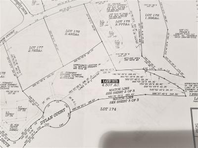 Pittsylvania County Residential Lots & Land For Sale: Lot 173 Dylan Ct
