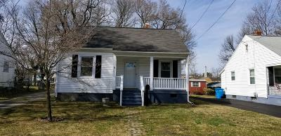 Roanoke City County Single Family Home For Sale: 124 Courtney Ave NE