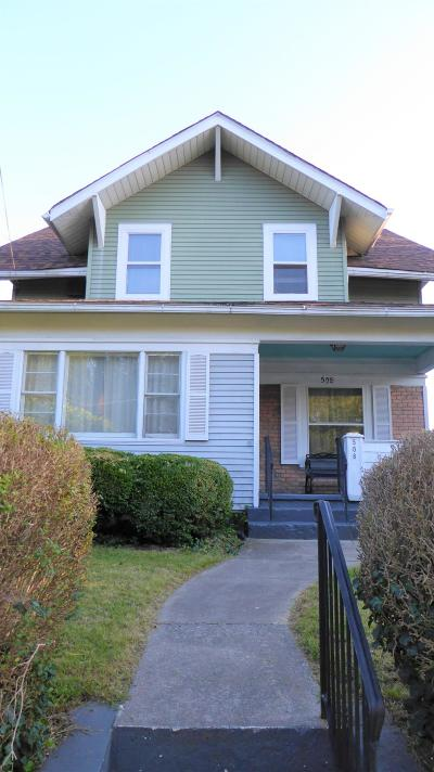 Roanoke City County Single Family Home For Sale: 508 Rutherford Ave NW