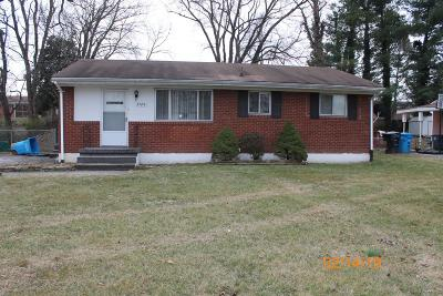 Roanoke City County Single Family Home For Sale: 3724 Troutland Ave NW