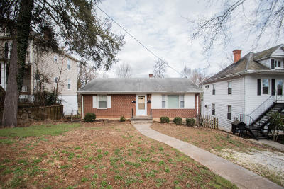 Roanoke City County Single Family Home For Sale: 1813 Oxford Ave SW