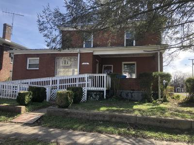 Roanoke City County Single Family Home For Sale: 1530 Rorer Ave SW
