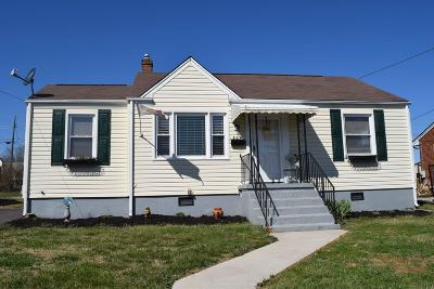 Roanoke VA Single Family Home For Sale: $113,950