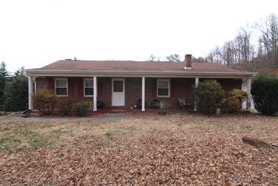 Vinton Single Family Home For Sale: 1156 Mineral Springs Rd