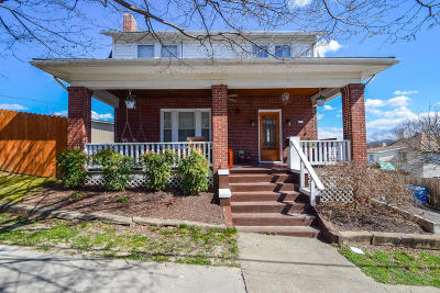 Roanoke Single Family Home For Sale: 1130 Amherst St SW