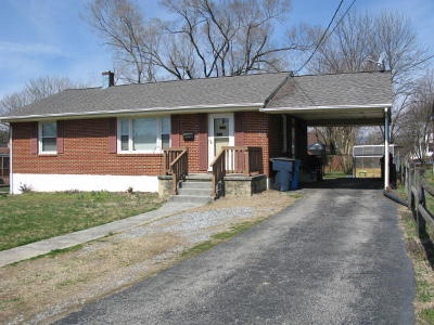 Roanoke VA Single Family Home For Sale: $124,500
