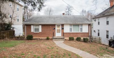 Roanoke City County Multi Family Home For Sale: 1813 Oxford Ave SW