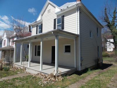 Roanoke City County Single Family Home For Sale: 1617 Chapman Ave SW