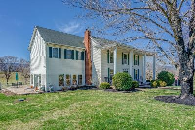 Troutville Single Family Home For Sale: 2854 Country Club Rd