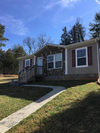 Bedford County Single Family Home For Sale: 1550 Thaxton School Rd