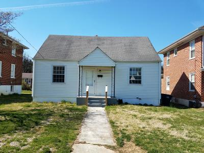 Roanoke City County Single Family Home For Sale: 2517 Winthrop Ave SW