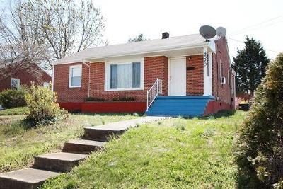 Roanoke Single Family Home For Sale: 4820 Rutgers St NW