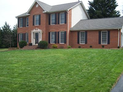 Roanoke Single Family Home For Sale: 233 Apple Ln