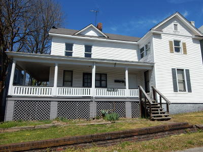 Roanoke City County Multi Family Home For Sale: 1114 Stewart Ave SE