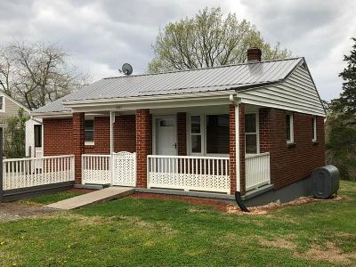 Bedford VA Single Family Home For Sale: $159,900