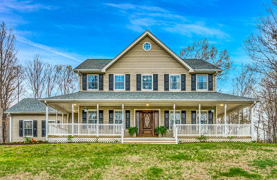 Botetourt County Single Family Home For Sale: 1213 Paradise Haven Trl