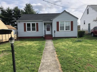 Roanoke Single Family Home For Sale: 525 Huntington Blvd NE