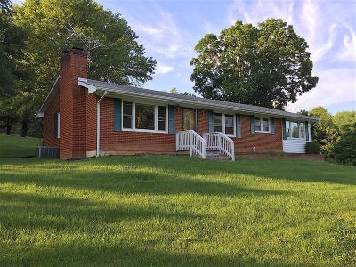 Botetourt County Single Family Home For Sale: 938 Old Hollow Rd