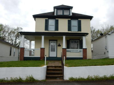 Roanoke City County Single Family Home For Sale: 512 Chestnut Ave NW