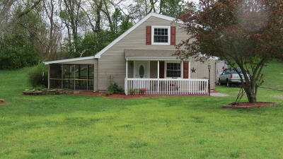 Roanoke County Single Family Home For Sale: 6328 Old Mountain Rd