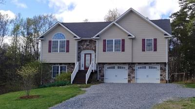 Botetourt County Single Family Home For Sale: 314 Redbud Ln