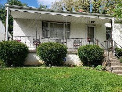 Roanoke City County Single Family Home For Sale: 711 Hanover Ave NW