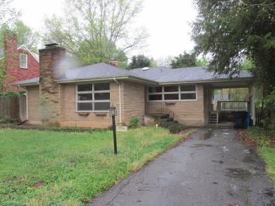 Roanoke Single Family Home For Sale: 2725 Deerfield Rd SW