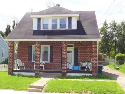 Roanoke City County Single Family Home For Sale: 1724 Mercer Ave NW