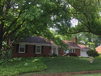 Roanoke City County Single Family Home For Sale: 3209 Pasley Ave SW