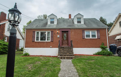 Roanoke City County Single Family Home For Sale: 3215 Collingwood St NE