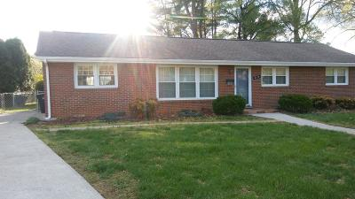 Roanoke City County Single Family Home For Sale: 4428 Oakland Blvd NW