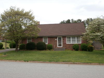 Roanoke County Single Family Home For Sale: 5511 Galloway Cir