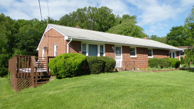 Franklin County Single Family Home For Sale: 485 Bernard Rd