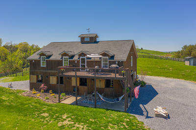 Botetourt County, Roanoke County Single Family Home For Sale: 1180 Longfield Rd