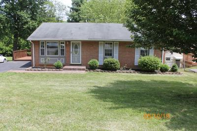 Roanoke County Single Family Home For Sale: 745 Kenyon Rd