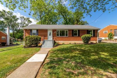 Roanoke VA Single Family Home For Sale: $199,500