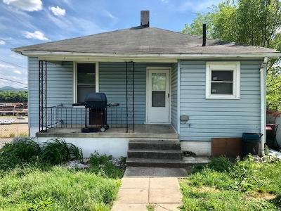 Roanoke VA Single Family Home For Sale: $59,900