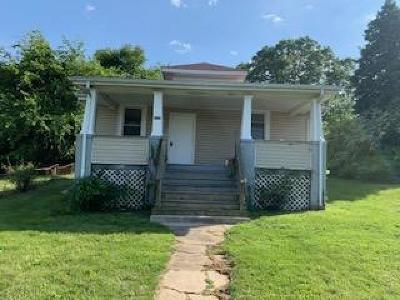 Roanoke VA Single Family Home For Sale: $99,950