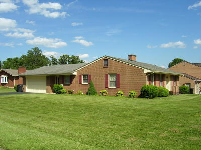 Roanoke VA Single Family Home For Sale: $188,000