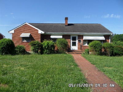 Roanoke VA Single Family Home For Sale: $79,990