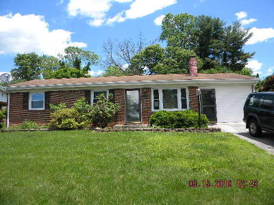Roanoke VA Single Family Home For Sale: $119,900